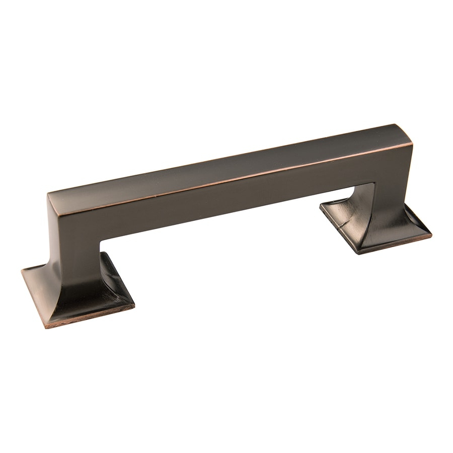 Hickory Hardware 96mm Center-to-Center Oil-Rubbed Bronze Highlighted Studio Bar Cabinet Pull