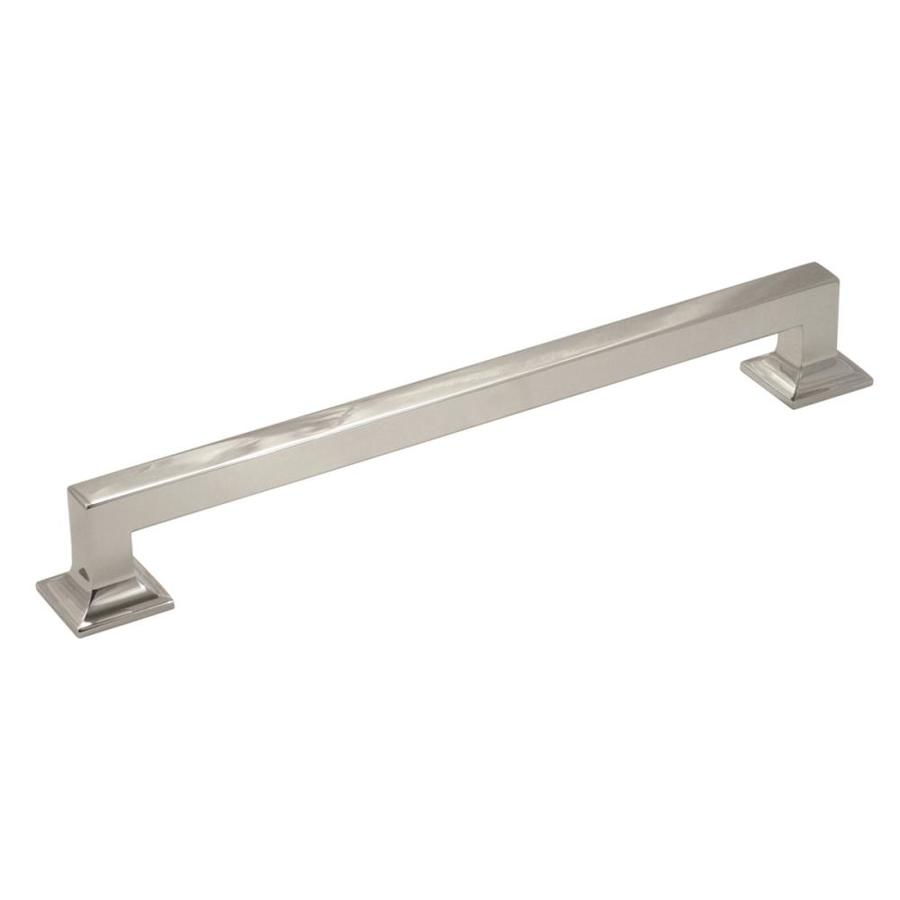 Hickory Hardware 13-in Center-to-Center Bright Nickel Studio Bar Cabinet Pull