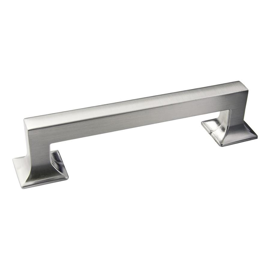 Hickory Hardware 128mm Center-to-Center Stainless Steel Studio Rectangular Cabinet Pull