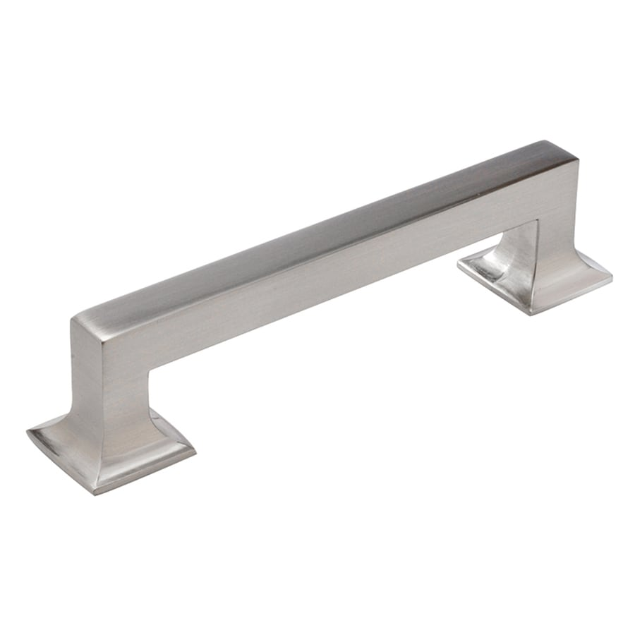 Hickory Hardware 128mm Center To Center Satin Nickel Studio Rectangular  Cabinet Pull