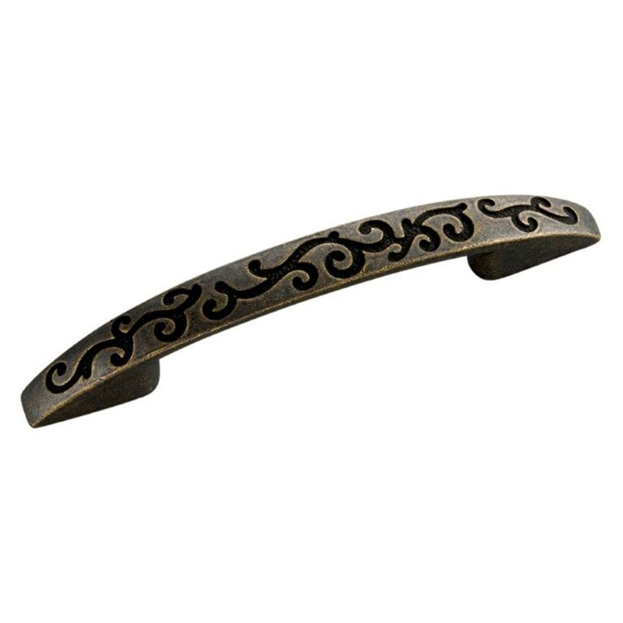 Hickory Hardware 3-in and 96Mm Center-To-Center Windover Antique Mayfair Arched Cabinet Pull