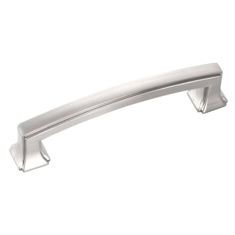 Hickory Hardware 96mm Center-to-Center Satin Nickel Bridges Rectangular Cabinet Pull