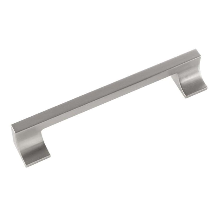 Hickory Hardware 160Mm Center-To-Center Stainless Steel Swoop Rectangular Cabinet Pull