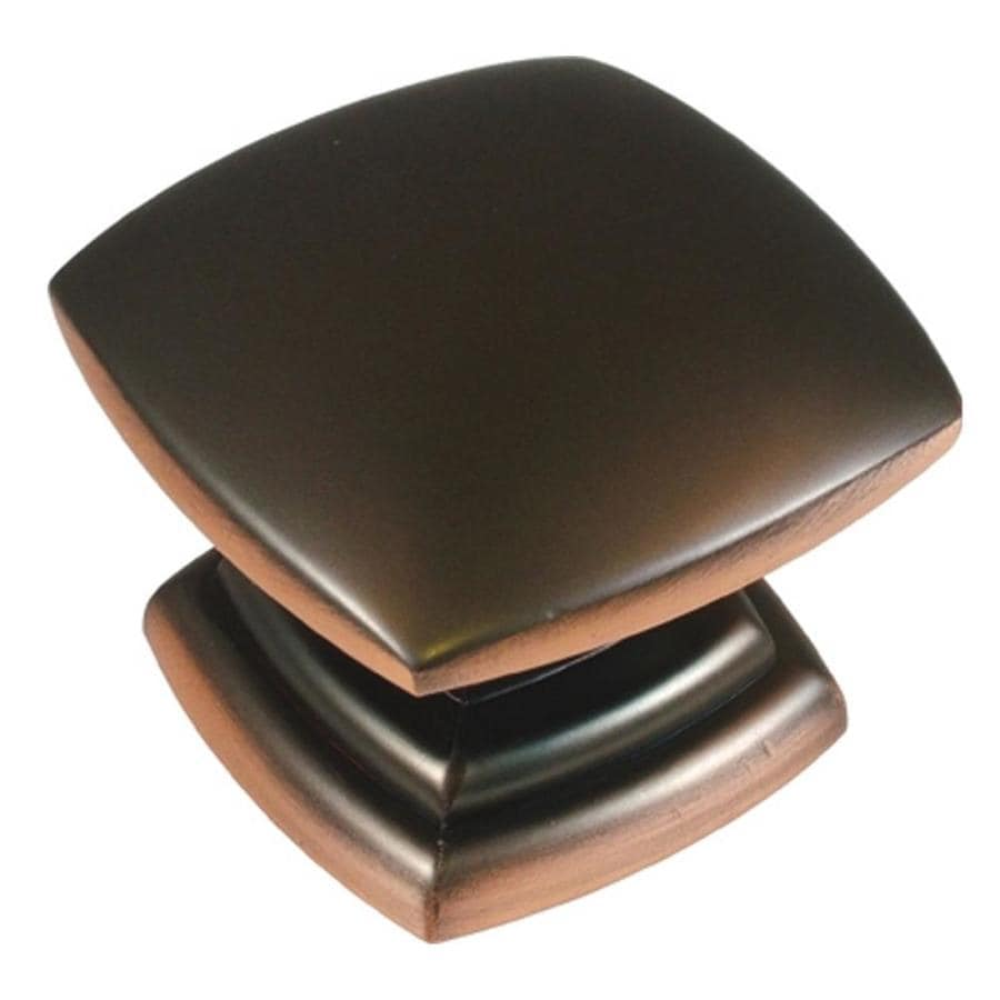 Shop Hickory Hardware 1-1/2-in Oil-Rubbed Bronze highlighted Euro ...