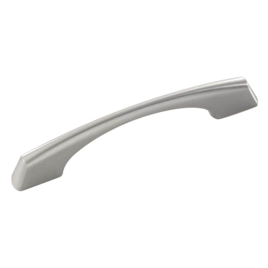 Hickory Hardware 3-in and 96mm Center-to-Center Stainless Steel Greenwich Bar Cabinet Pull
