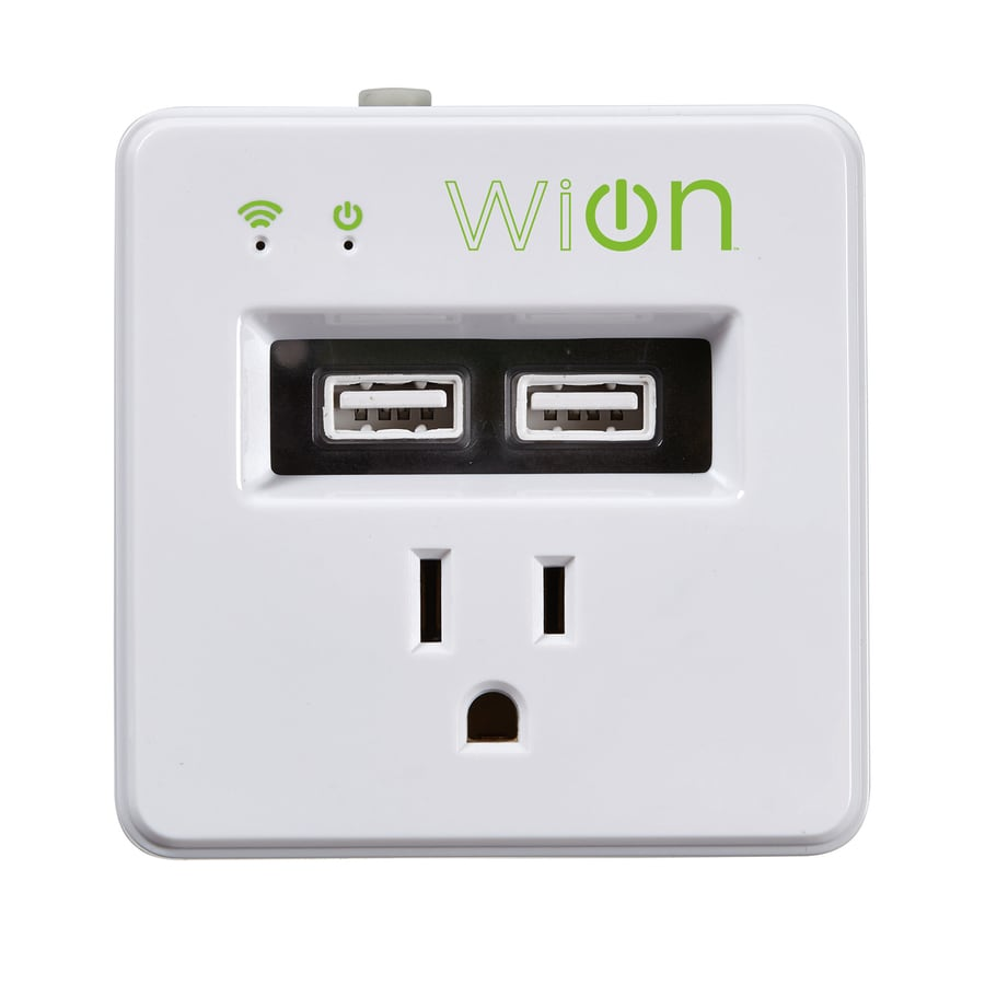 WiOn 15-Amp Wireless White Indoor Remote Control Light Switch