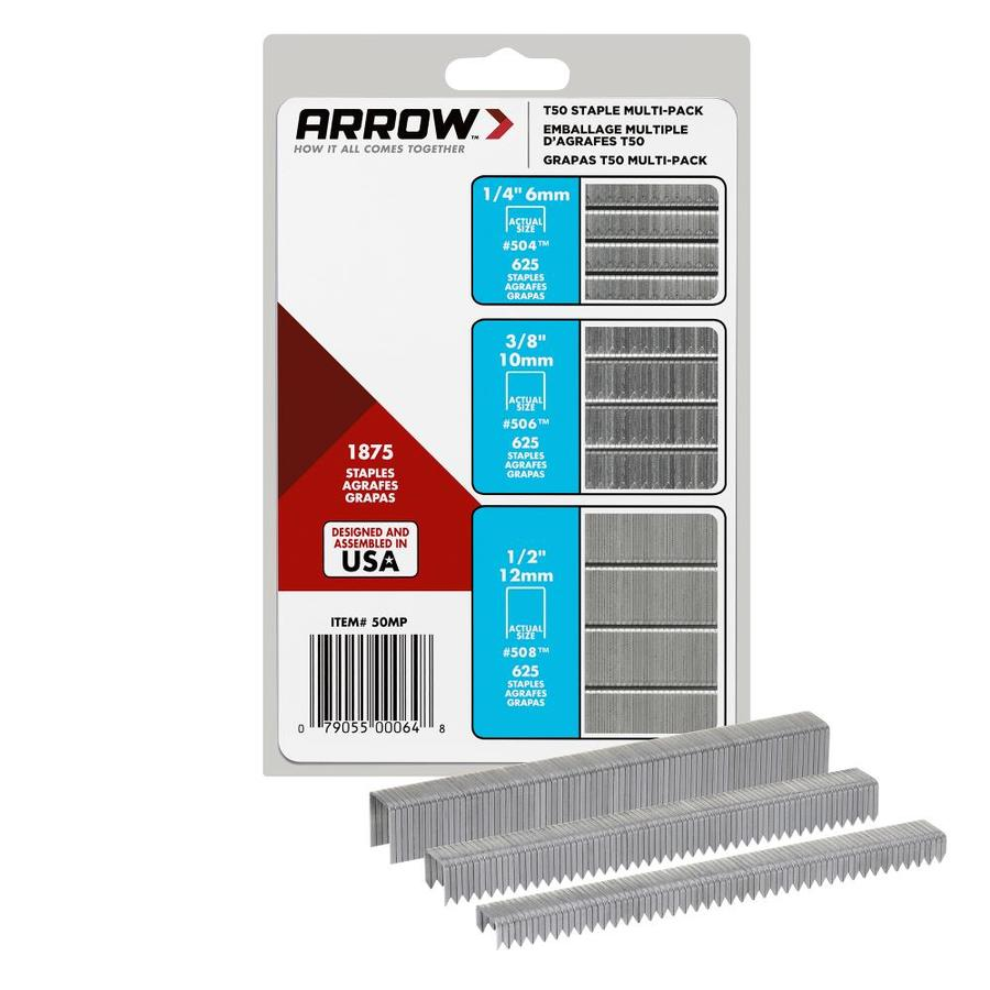 Arrow Fastener 1,875-Count Heavy-Duty Staples
