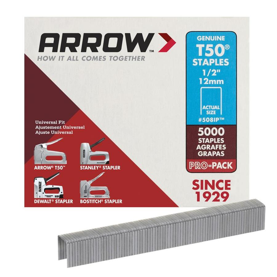Arrow Fastener 5000-Count 0.5-in Heavy-duty Staples