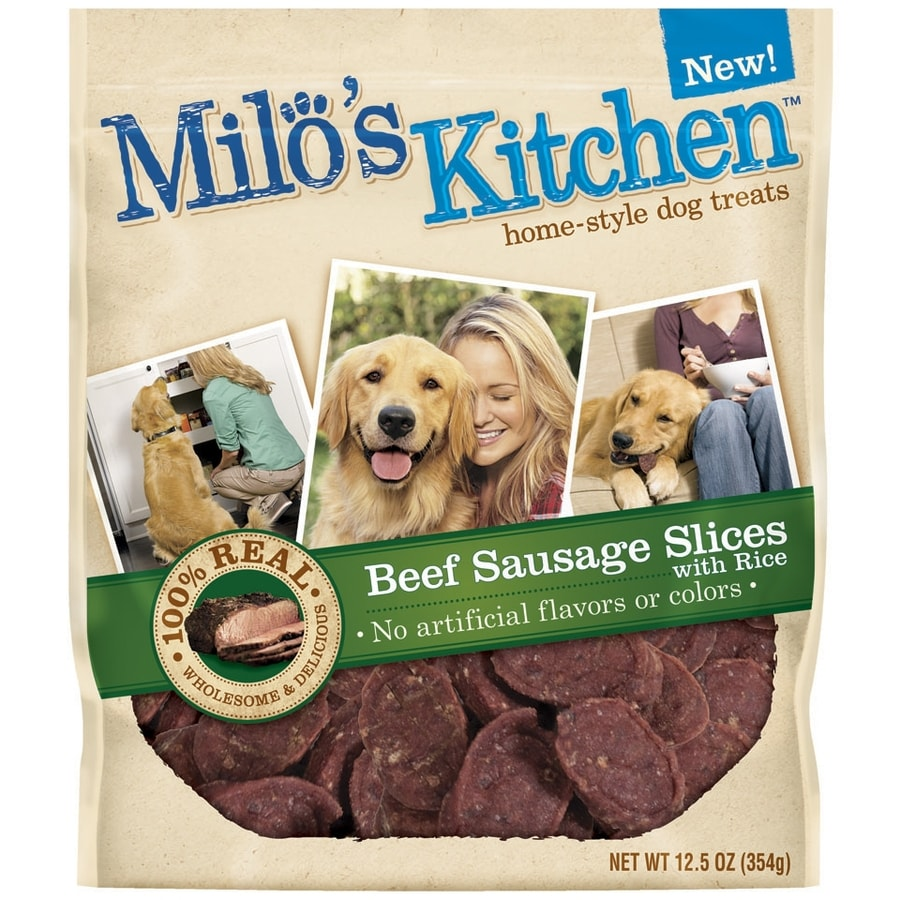 Milo's Kitchen 12.5-oz All-Natural Beef-Flavor Snacks