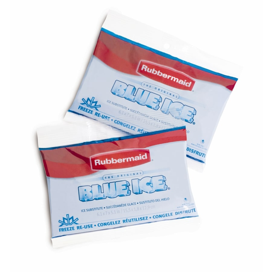 Rubbermaid Blue Ice 2-Pack Blue Gel Ice Packs