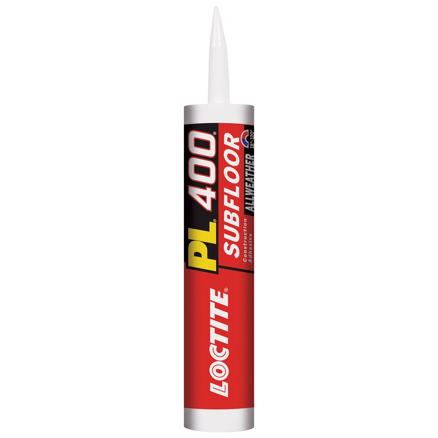 LOCTITE Pl Off-White Exterior Subfloor Construction Adhesive (Actual Net Contents: 10-fl oz)
