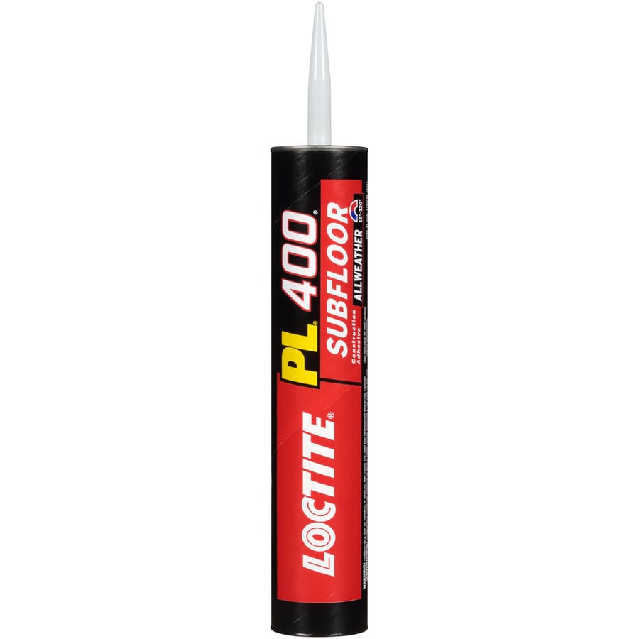 LOCTITE Pl Off-White Interior/Exterior Subfloor Construction Adhesive (Actual Net Contents: 28-fl oz)