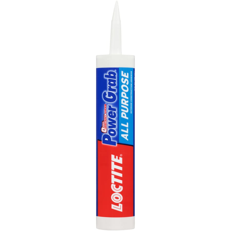 LOCTITE Power Grab White Interior Multi-Purpose Construction Adhesive (Actual Net Contents: 9-fl oz)