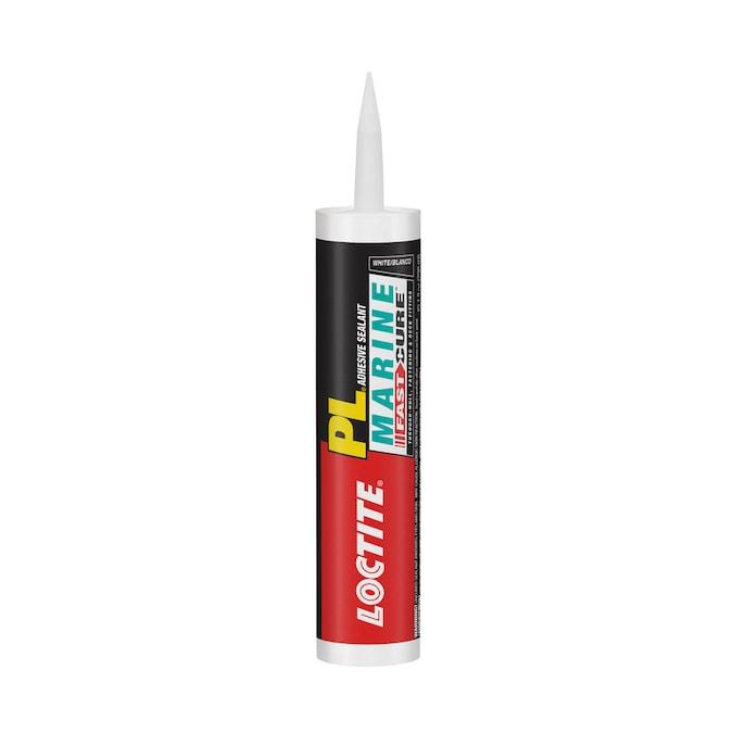 Loctite Marine Fast Cure 10 1 Oz White Paintable Advanced Sealant Caulk In The Caulk Department At Lowes Com