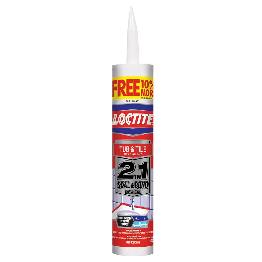 Shop Loctite 11 Oz White Paintable Tub And Tile Latex