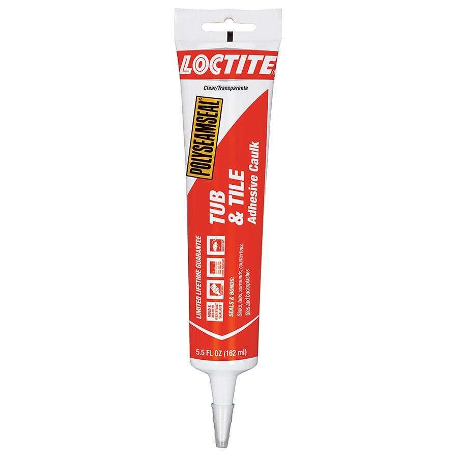 LOCTITE 5.5-fl oz Clear Paintable Caulk