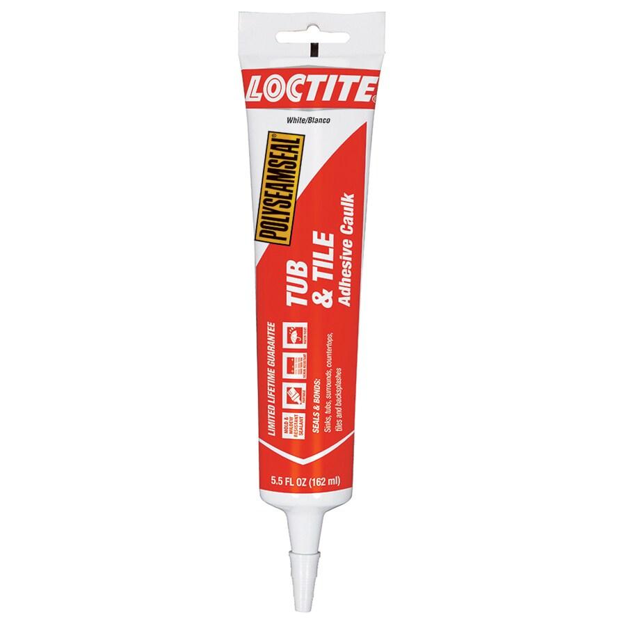LOCTITE 5.5-fl oz White Paintable Caulk