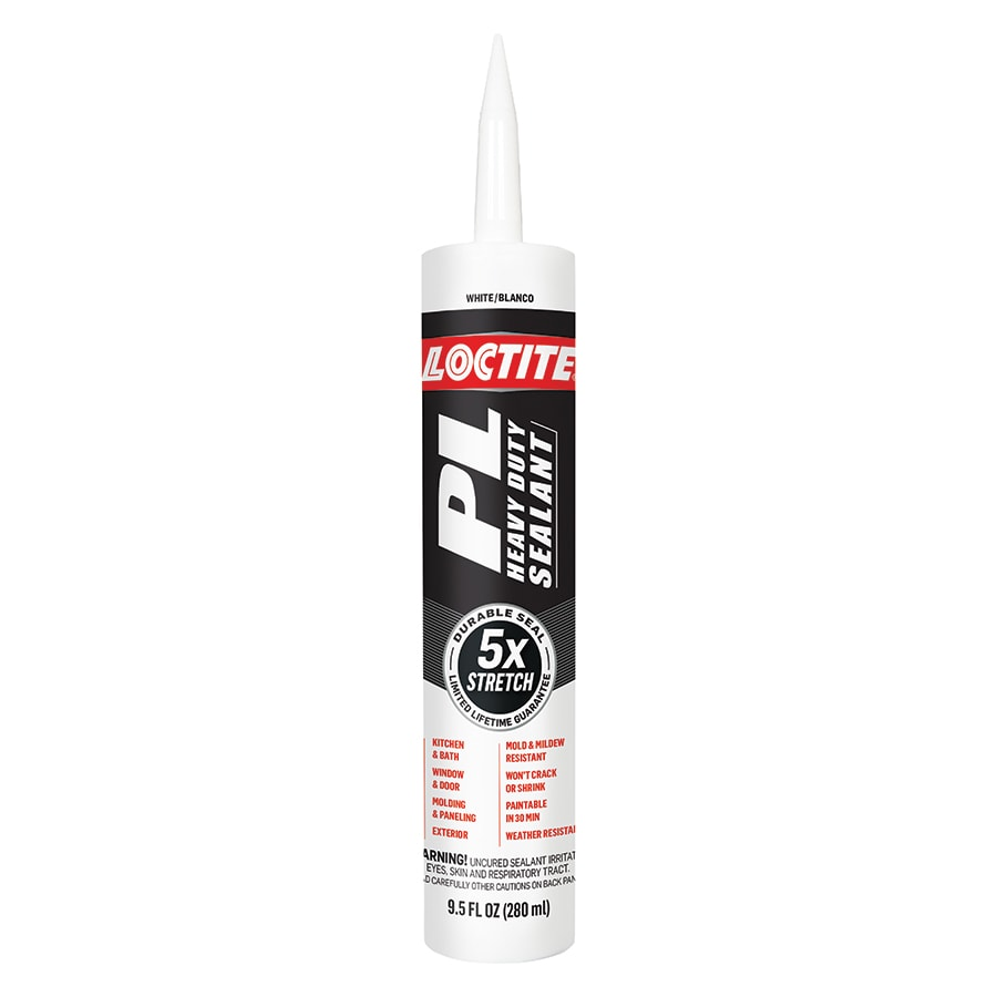 LOCTITE PL-Pack 9.5-oz White  Paintable Caulk