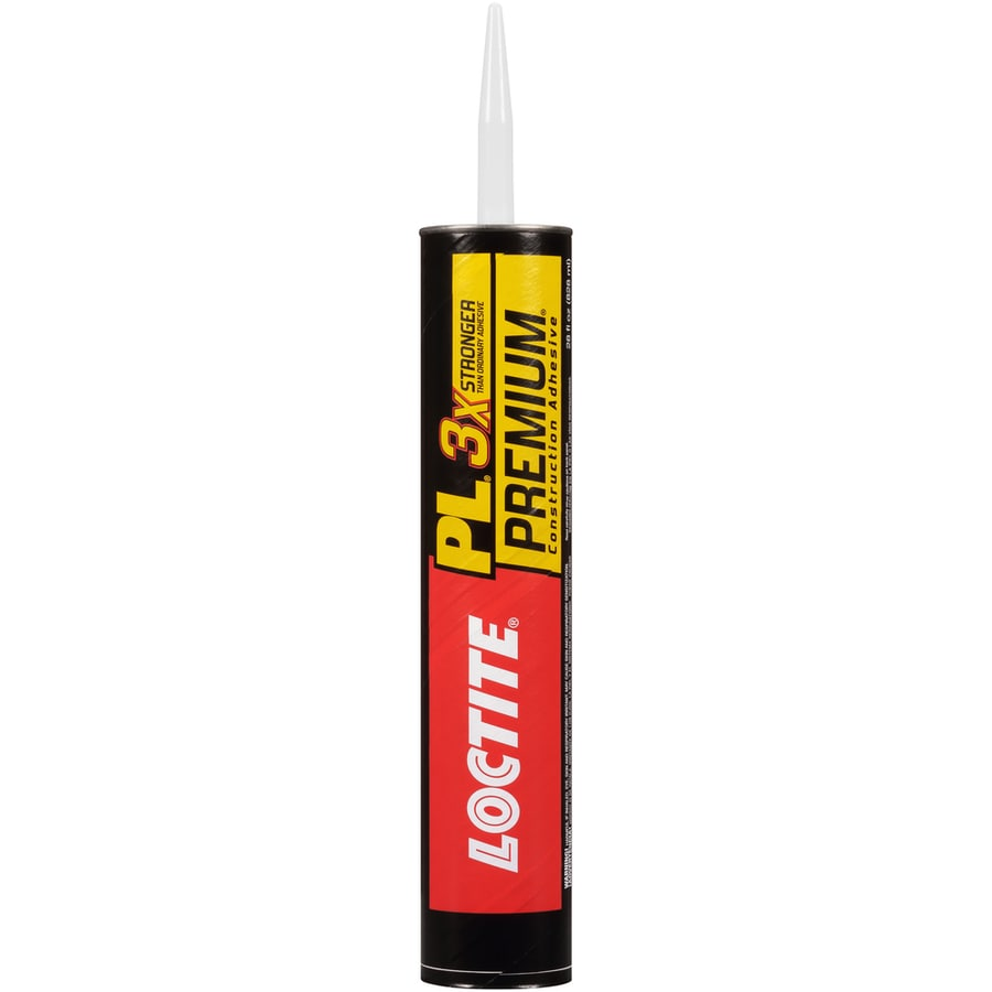 LOCTITE Pl Brown Interior/Exterior Multi-Purpose Construction Adhesive (Actual Net Contents: 28-fl oz)