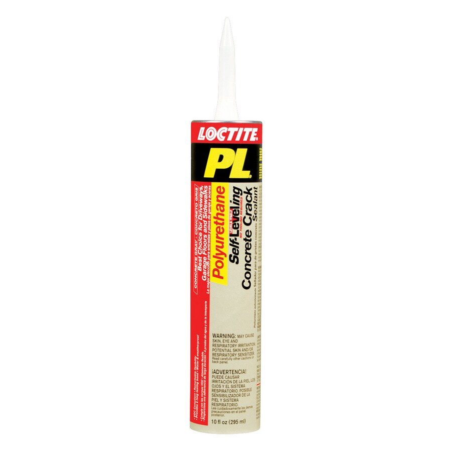 LOCTITE Pl 10-oz Gray Paintable Caulk