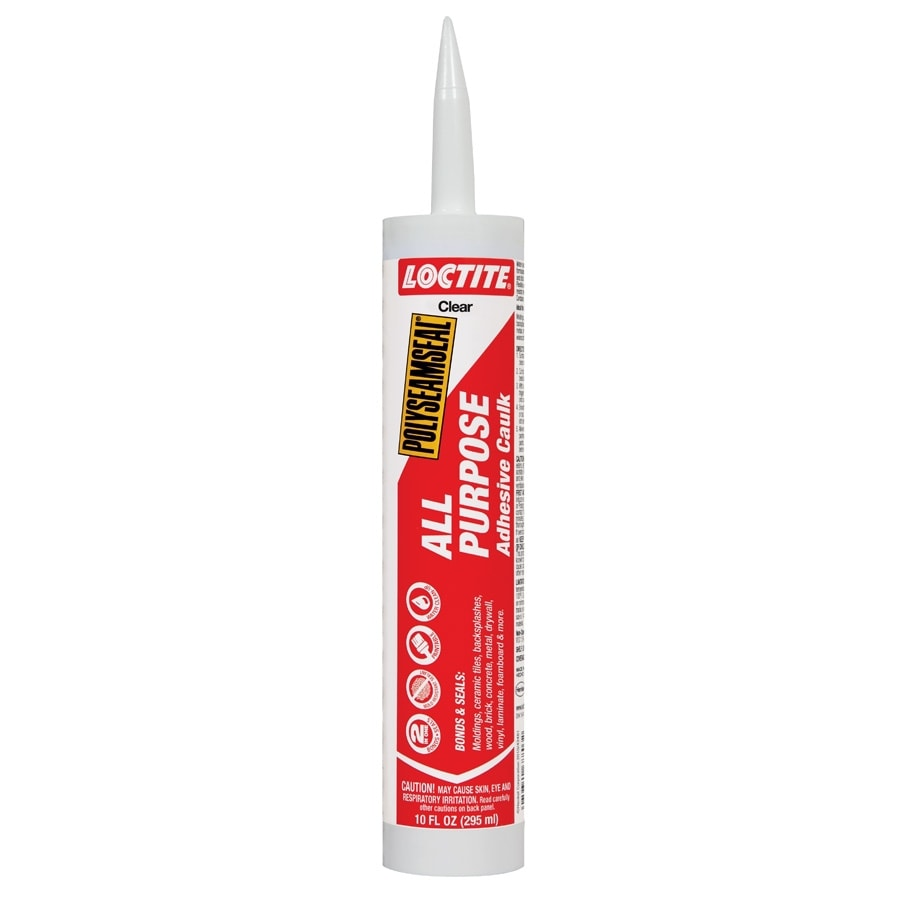 LOCTITE Pl 10-oz Clear Paintable Caulk