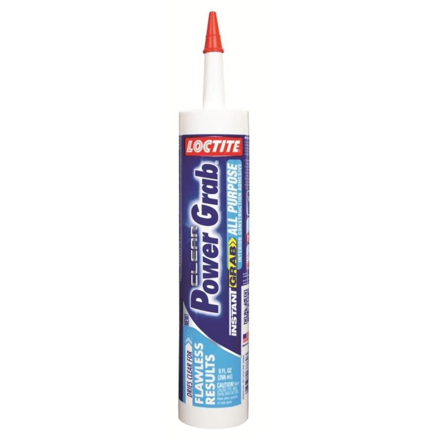 LOCTITE Power Grab All-Purpose Clear Construction Adhesive