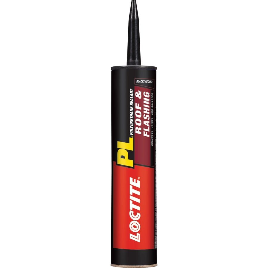 LOCTITE Pl 10-oz Black Paintable Polyurethane Specialty Caulk