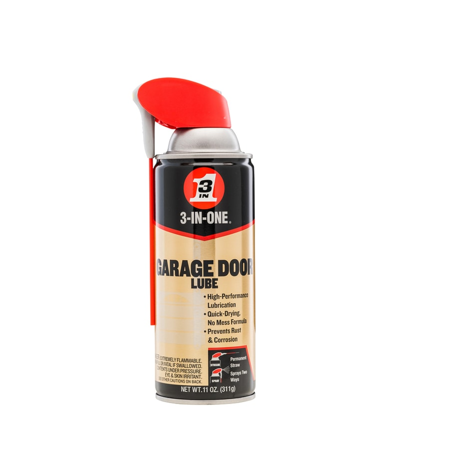 3 In One 11 Oz Garage Door Lube At Lowes Com