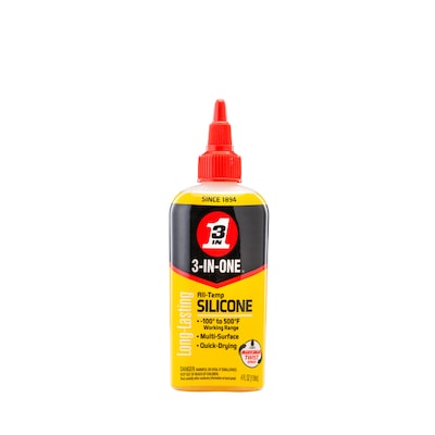 3-IN-ONE All-Temp 4-oz Silicone Drip Oil Lubricant at Lowes com