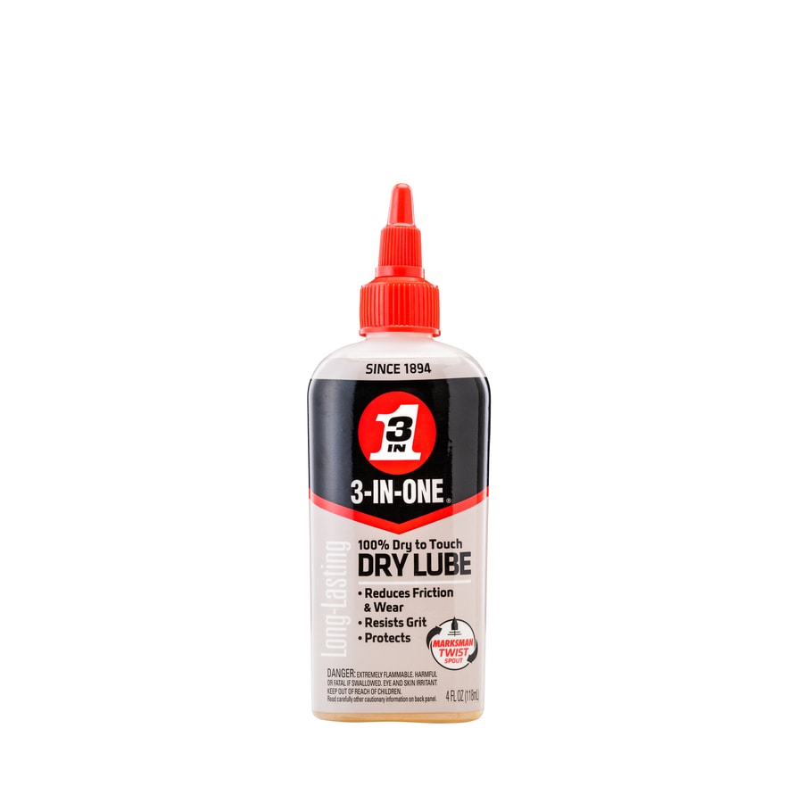 3-IN-ONE 4-oz Dry Lube Drip Oil