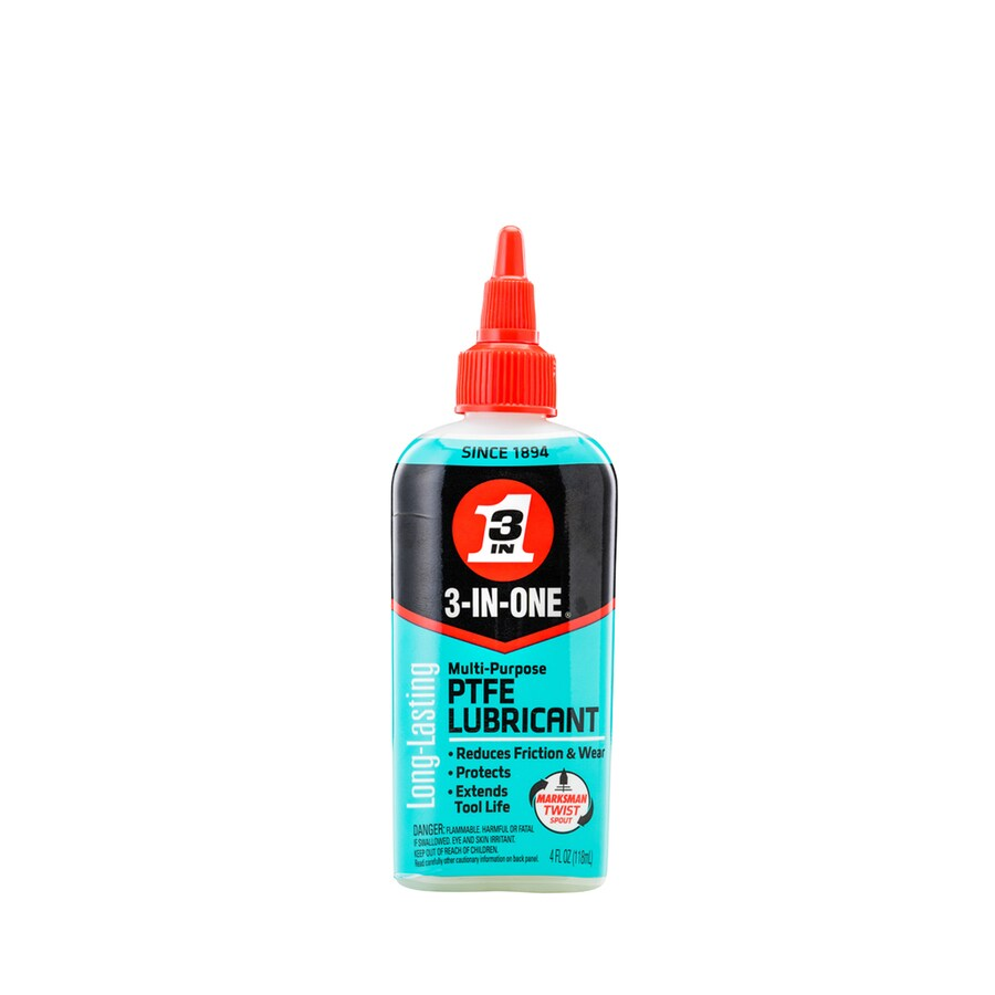 3-IN-ONE 4-oz PTFE Lube Drip Oil