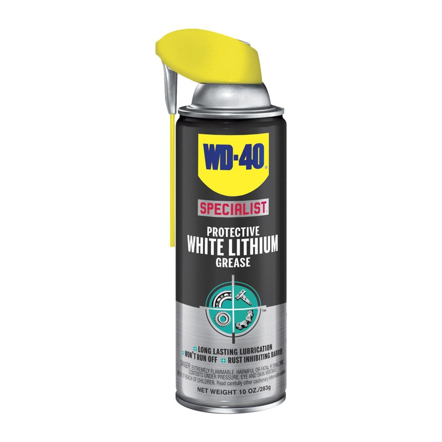 WD-40 Specialist 10-oz Specialist White Lithium Grease
