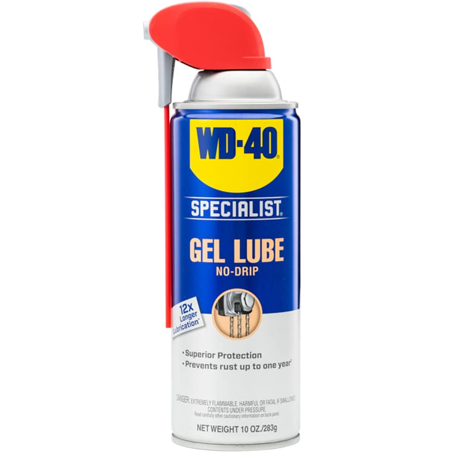 WD-40 Specialist 10-oz Spray and Stay Gel Lube