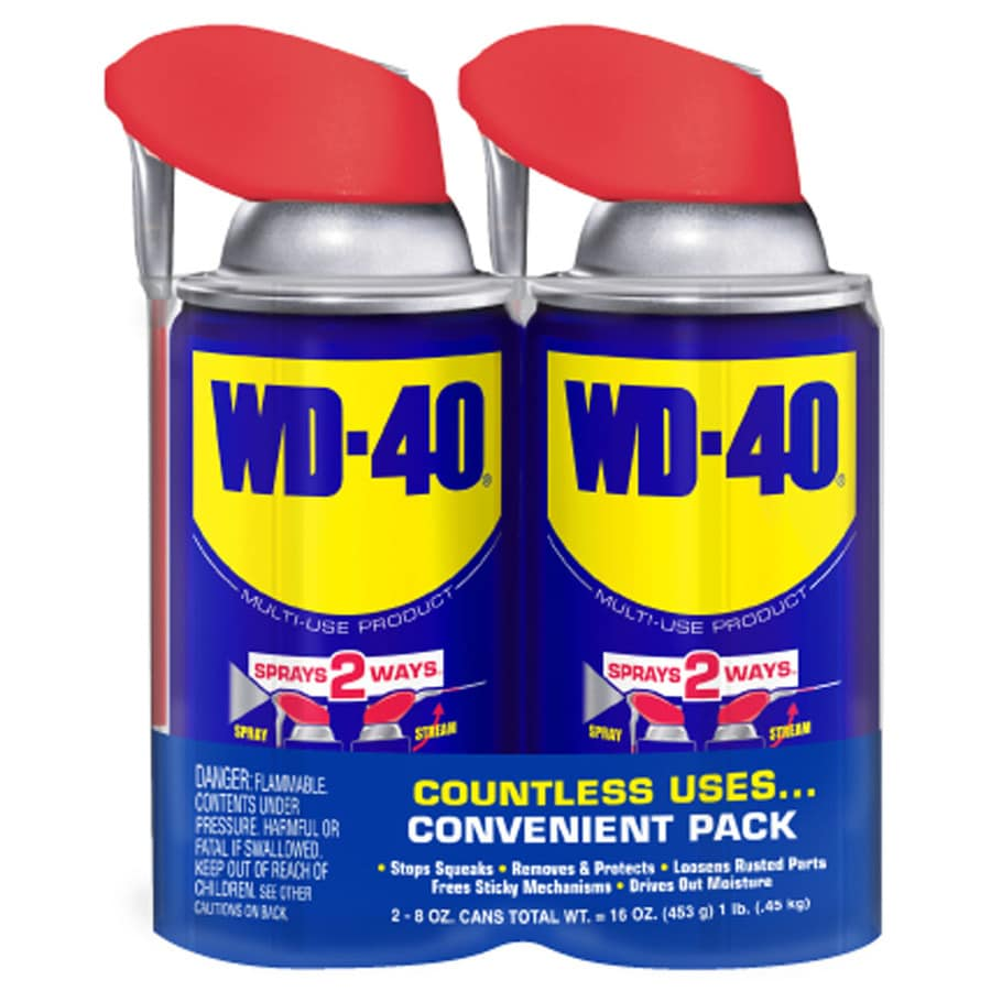 WD-40 2-Count 8-oz Hardware Lubricant