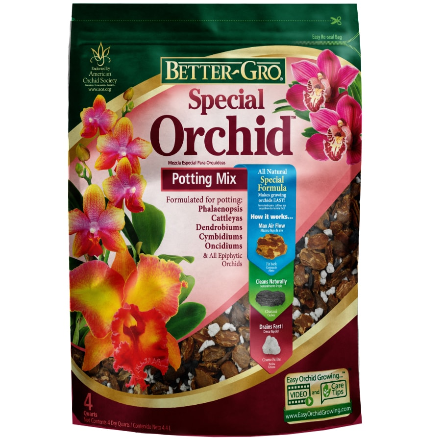 BETTER-GRO 4-Quart Orchid Potting Mix