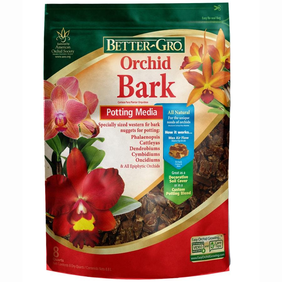 BETTER-GRO 8-Quart Organic Orchid Bark Soil