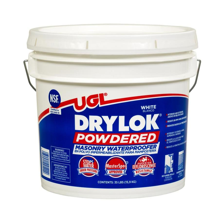 DRYLOK White Flat Textured Waterproofer (Actual Net Contents: 560-oz)