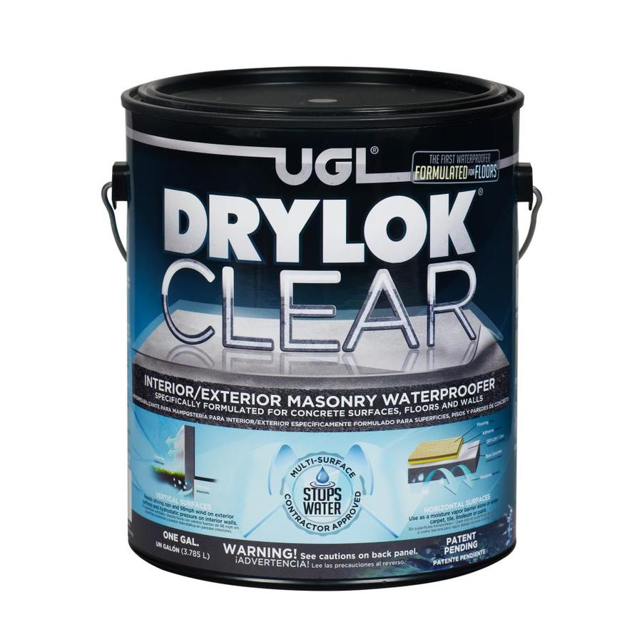 DRYLOK Clear High-Gloss Waterproofer (Actual Net Contents: 128-fl oz)