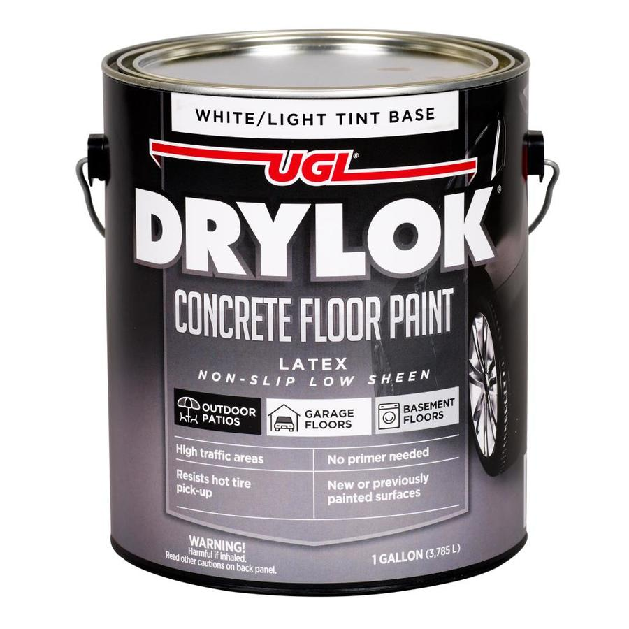 UGL 1-Gallon Interior/Exterior Flat White Latex-Base Paint and Primer in One