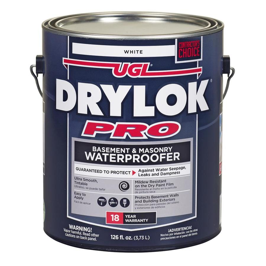 DRYLOK Off-White Waterproofer (Actual Net Contents: 126-fl oz)