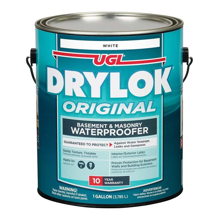 UGL DRYLOK Latex-Based Masonry White Waterproofer