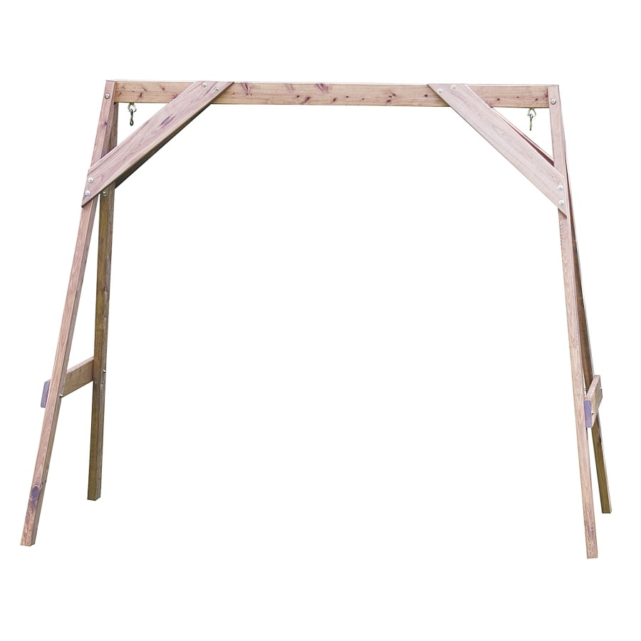 Shop Great American Woodies Wood Traditional Cypress A-Frame at ...