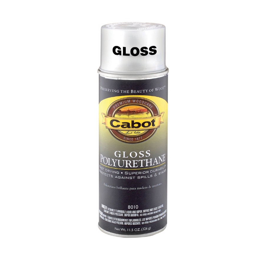 Cabot 12 oz Oil Gloss Polyurethane Spray