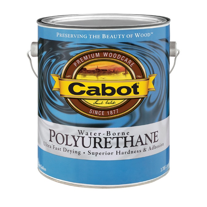 Cabot Gallon Water Based Polyurethane Satin at Lowes.com
