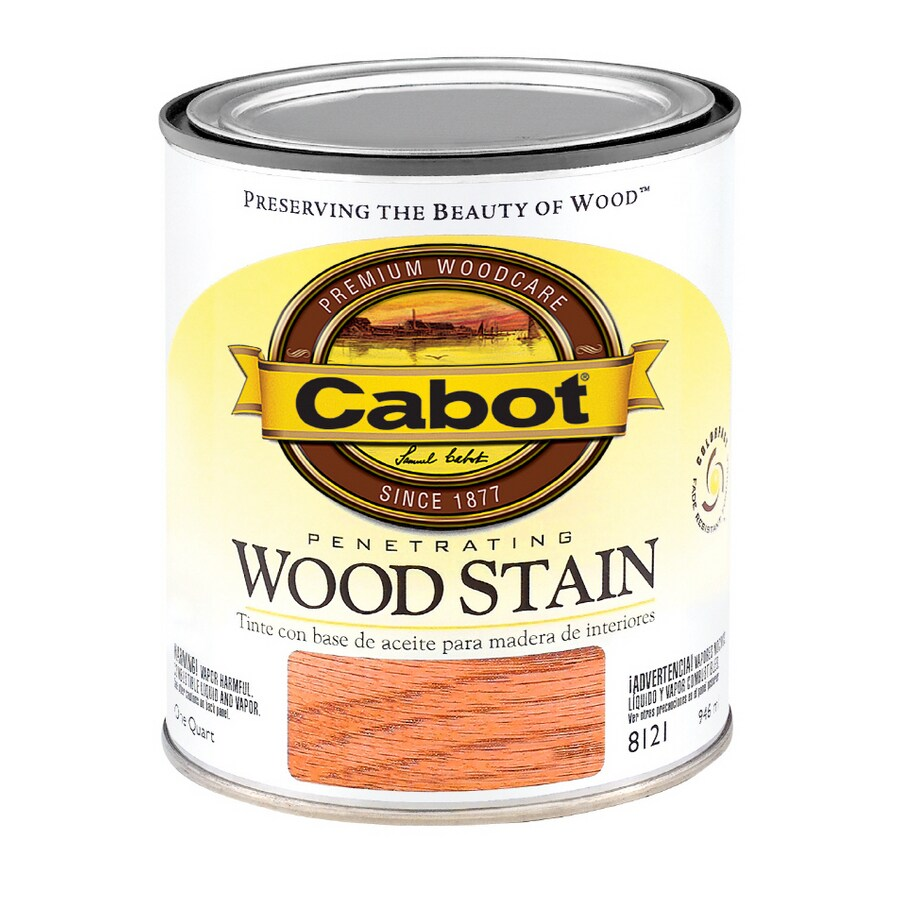 Shop Cabot 1 Quart Cherry Oil Wood Stain At