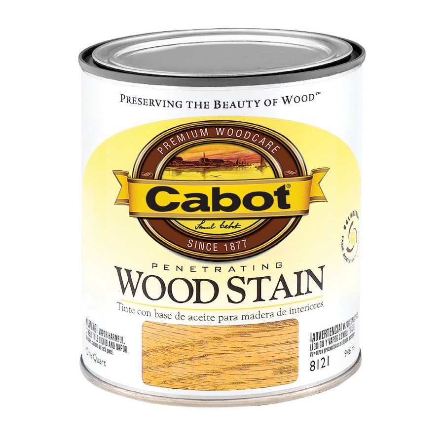 Cabot 1-Quart Early American Oil Wood Stain