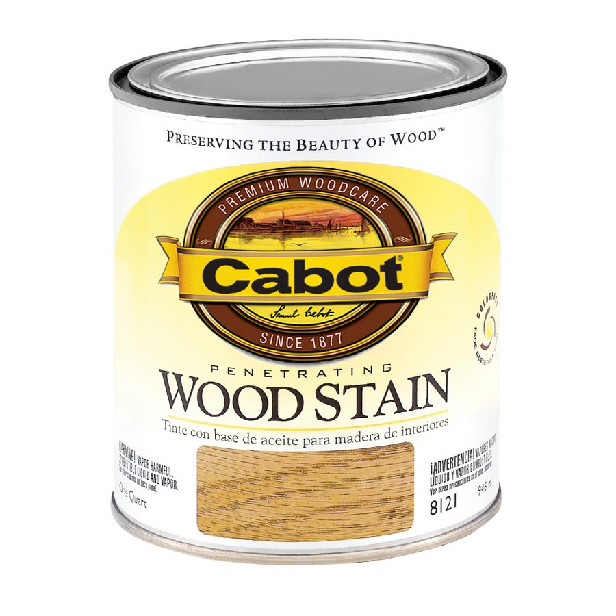 Cabot 1-Quart American Pecan Oil Wood Stain
