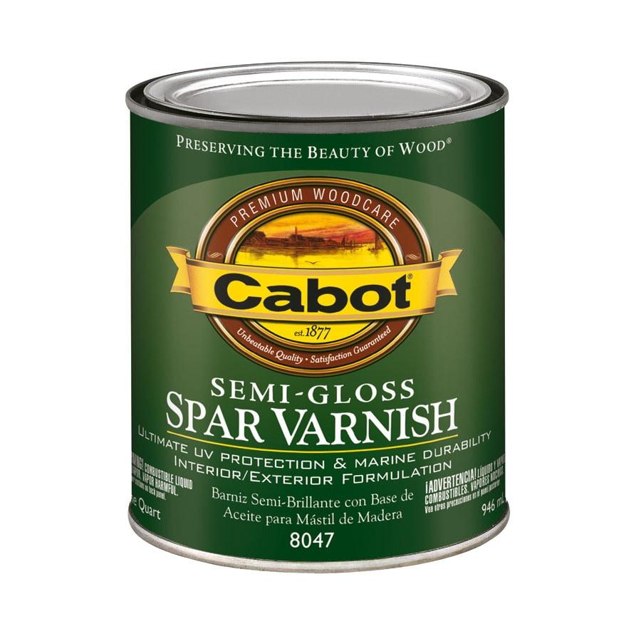 Cabot Semi-Gloss Oil-Based 32-fl oz Varnish