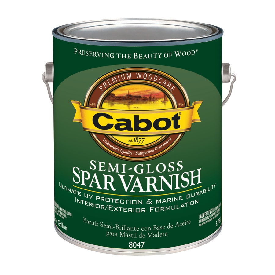 Cabot Semi-Gloss Oil-Based 128-fl oz Varnish