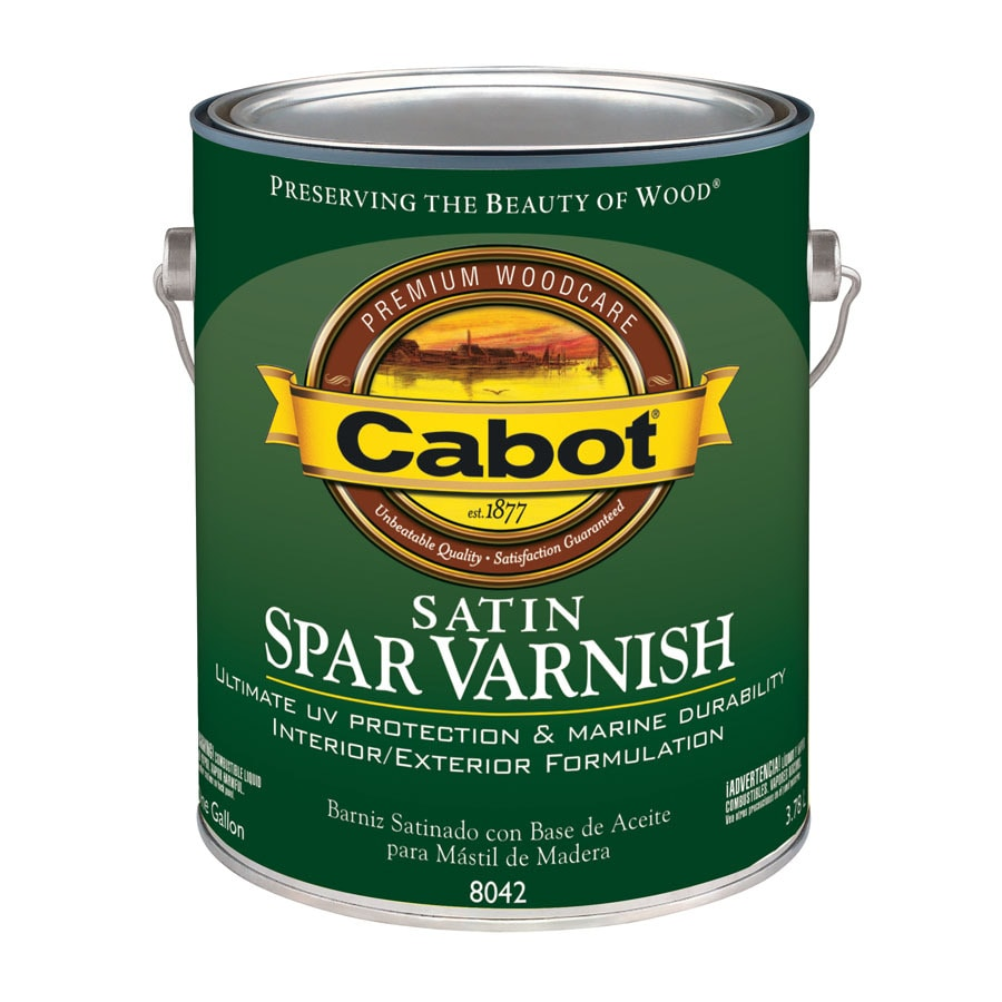 Cabot Satin Oil-Based 128-fl oz Varnish